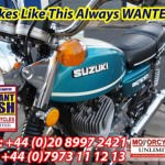 1971 SUZUKI T500 R Cobra WANTED