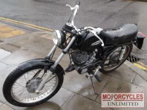 1972 Aermacchi Harley Davidson Aletta De Luxe ML125 D