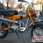1972 HONDA ST70 Monkey Bike