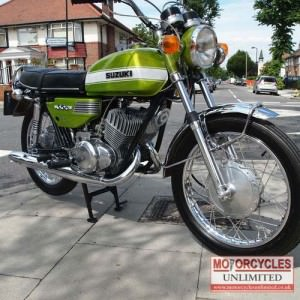 1972 Suzuki T350 Rebel Classic Motorcycle for sale