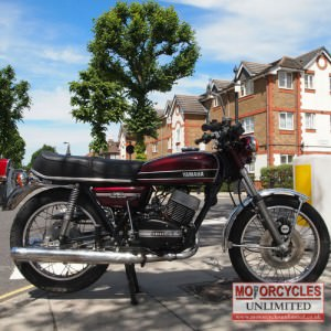 1974 YAMAHA RD350 A Classic Japanese Motorcycle for sale