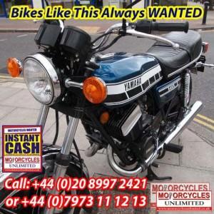 1977 YAMAHA RD400 E Japanese Classic Bikes Wanted