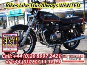 1982 Kawasaki Z650 wanted