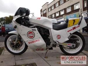 1985 SUZUKI GSXR750 F