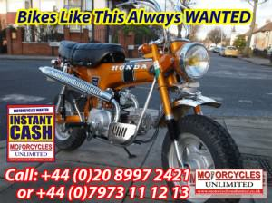 HONDA Monkey Bikes WANTED