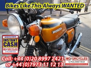Honda CB750 Wanted