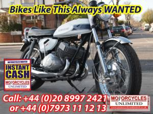 Kawasaki H1500 Wanted - Classic Japanese Motorcycles Wanted