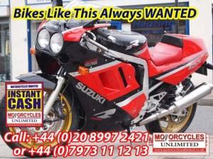 SUZUKI GSXR1100 CLASSIC BIKES WANTED