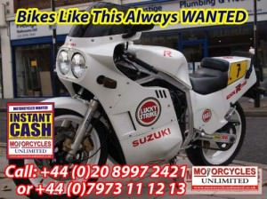 SUZUKI GSXR750 Slabside Wanted all Models