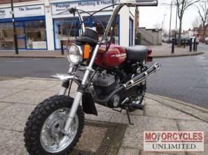 1976 HARLEY DAVIDSON X90 Aermacchi AMF monkey bike for sale