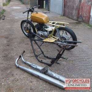 1975 Suzuki GT250 Cafe Racer Project for sale