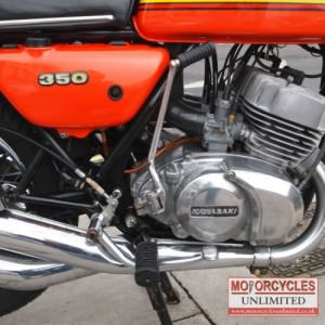 1973 Kawasaki S2 350 Triple Classic Rare Kawasaki for Sale