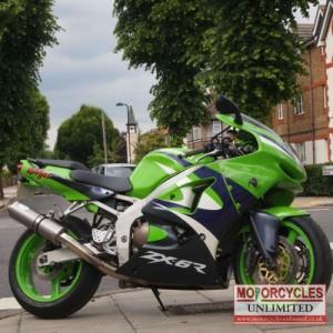 1999 Kawasaki ZX6R G2 Sports Bike for Sale