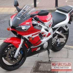 1999 Yamaha R6 Classic Sports Bike for Sale