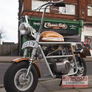 1974 Fantic TX7 Classic Ultra Rare Mini Monkey Bike For Sale (1) Min