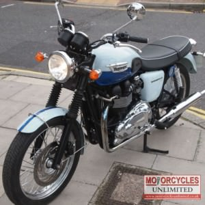 2010 Triumph T100 865 Bonneville Limited Edition for Sale