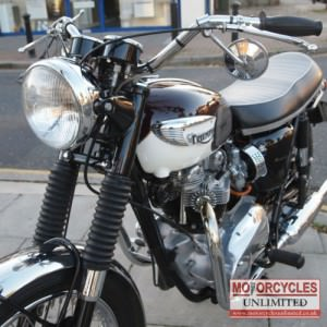 1966 Triumph Bonneville T120 R Classic British Bike for Sale