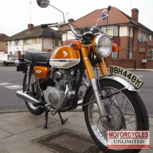 1971 Honda CB175 K4 Vintage Japanese Bike for Sale