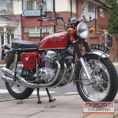 1970 Honda CB750 K0 Classic Honda for Sale