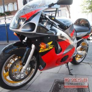 1997 Suzuki GSXR600 V SRAD Classic Sportbike for Sale