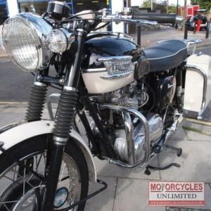 1960 Triumph T110 Classic Triumph for Sale
