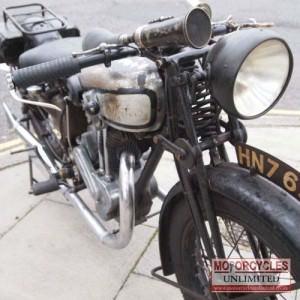 1930 Norton 20 Classic Bike for Sale
