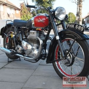1949 Ariel Square Four Classic Bike for Sale