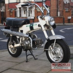1972 Honda ST70 Classic Monkey Bike for Sale