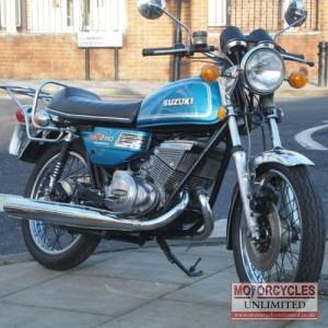 1975 Suzuki GT250 Classic 2 Stroke for Sale