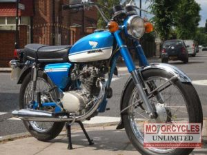 1972 Honda CB125 S for Sale