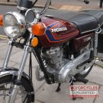 1981 Honda CG125 Classic Commuter for Sale