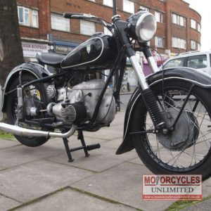 1956 IFA MZ BK350 Flat-Twin for Sale