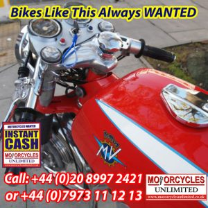 Classic Italian Motorcycles Wanted