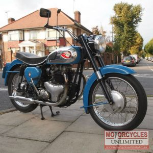 1960 BSA A10 Classic British Bike for Sale