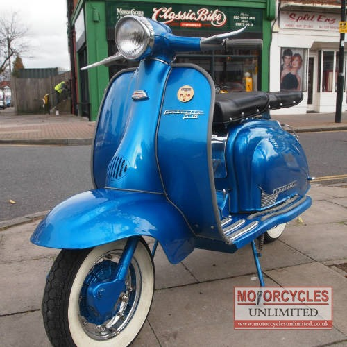 Used Honda Motorcycles >> 1960 Lambretta LI125 Classic Scooter for Sale ...