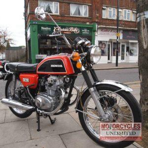 1975 Honda CB200 Classic Honda for Sale