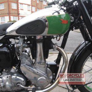 1949 BSA B33 Classic British Bike For Sale (10)