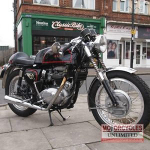 1965 BSA A65 Classic Cafe Racer For Sale (4)