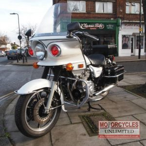 1984 Kawasaki KZ1000 P Classic Police Bike For Sale (1)