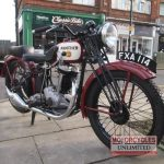 1938 P&M Red Panther Classic Bike For Sale (2)