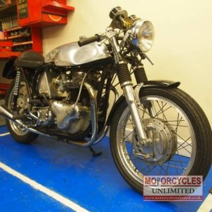 1961 Norton Dominator 600 Classic Cafe Racer For Sale (9)