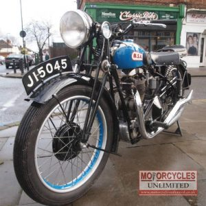 1931 BSA 350 L31 6 Deluxe For Sale (9)