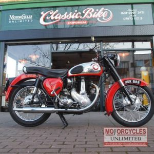 1956 BSA B33 Classic BSA For Sale (1)