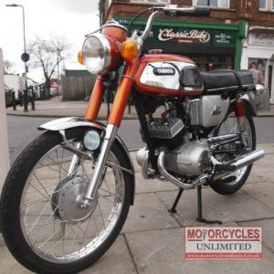1969 Yamaha AS1 Classic 125 For Sale (2)