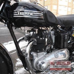 1951 Triumph 3T Classic Rigid Triumph For Sale (7)