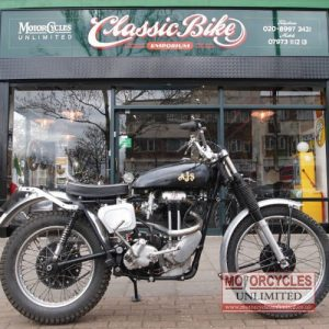 1948 AJS 16M 350 Trials Bike For Sale (10)