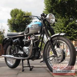 1962 Triumph T120 Bonneville For Sale (1)