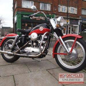 1958 Davidson 883cc XL Sportster For Sale (6)