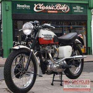 1959 Triumph TR6 650 Classic Bike For Sale (1)