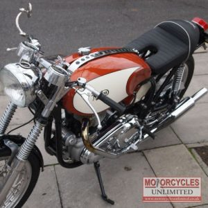 1957 Norton 600 Classic Cafe Racer For Sale (11)